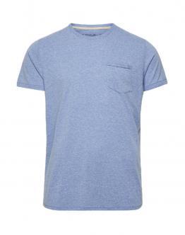 JACK & JONES Jjvcowen Tee Federal Blue T-Shirt Blu Con Taschino 12089461 - Blu