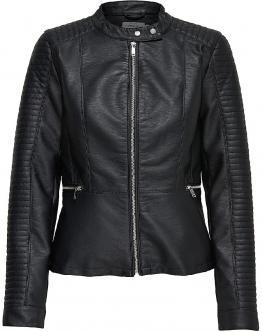 ONLY Onlheart Faux Leather Jack Black Nero 15149303 - Nero