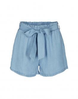DESIRES Alma 2 Short Dettaglio Fiocco Jeans Denim 9193215 - Jeans chiaro