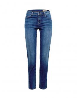 ESPRIT Jeans Elasticizzati Cotone Biologico Straight Medium Raise 997EE1B812902 - Jeans