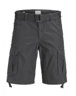 JACK & JONES Jjianakin Cargo Shorts Tasconi Grigio Scuro 12132933 - Grigio
