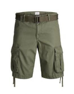 JACK & JONES Jjianakin Cargo Shorts Tasconi Verdone 12132933 - Verde