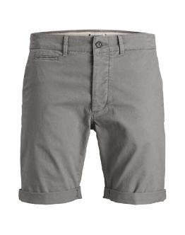 JACK & JONES Regular Fit Chinos Shorts JJEnzo Steel Gray 12146478 - Grigio