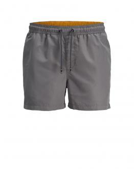 JACK & JONES Cali Swim Shorts CastelRock Grigio 12147041 - Grigio