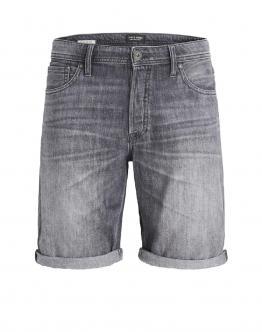 JACK & JONES Shorts Denim Grey JJIrick 12148899 - Grigio