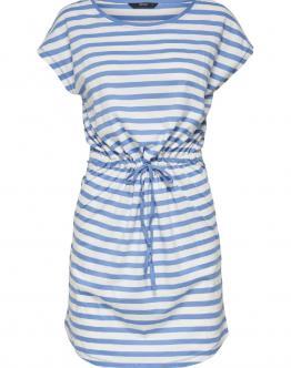 ONLY May Dress Vestito Leggero Cotone Royal Blu 15153021 - Celeste