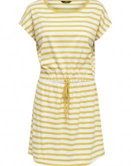 ONLY May Dress Vestito Leggero Cotone Yellow Giallo 15153021 - Giallo