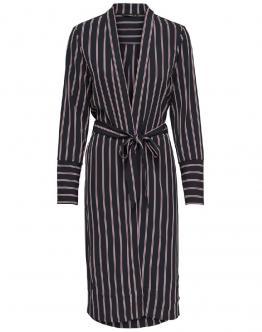 ONLY Jessy Long Kimono Stripes Night Sky Blu Scuro 15175028 - Blu scuro