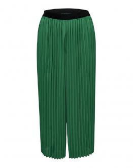 ONLY Analina Plated Culotte Pantaloni Leggeri Verde 15180318 - Verde