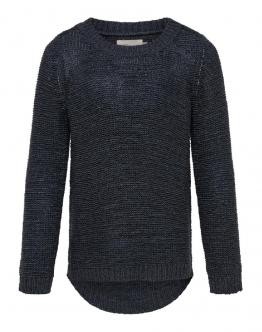 ONLY KIDS Geena Pullover Knit Night Sky Blu Scuro 15174163 - Black