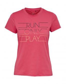 ONLY PLAY T-Shirt Kayle Slim Run Paradise Pink 15165639 - Rosa