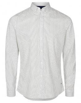 SOLID Shirt Juan Sergant Spring Off White Dettagli Black Nero Bianco 6190119 - White