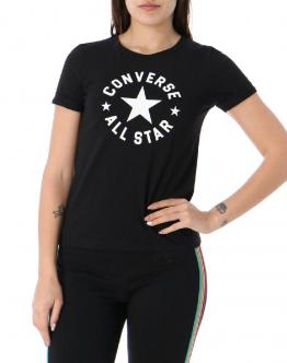 CONVERSE T-Shirt All Star Nera 10020086 - Nero