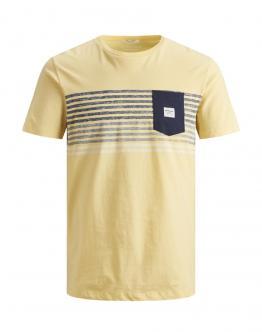 JACK&JONES KIDS Jorlangley T- Shirt Slim Flan Gialla 12167775 - Gialla