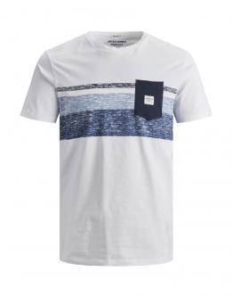 JACK&JONES KIDS Jorlangley T- Shirt Slim White Bianca 12167775 - Bianca