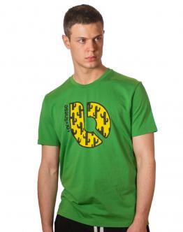 LONDINESE Caxctus T-Shirt Verde Green Slim M42424640 - Verde