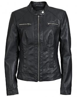 ONLY Bandit Faux Leather Biker Giacca Eco-pelle Black Nero 15081400 - Nero