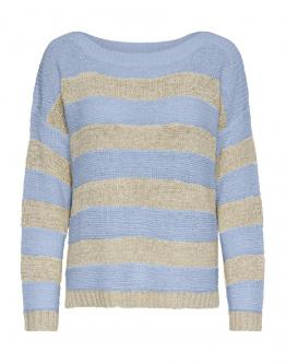 ONLY OnlCarilee Pullover Maglia Celeste Blu 15192514 - Celeste