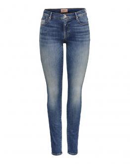 ONLY Shape Jeans Vita Regular Medium Blu Life 15195779 - Denim