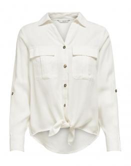 ONLY OnlKarla Shirt Camicia Whithe Bianca 15197185 - Bianca