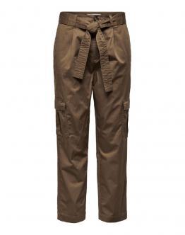 ONLY Pantalone Onlpetal Cindi Life Cargo Toffee Caramello 15199066 - Marrone