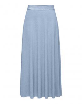 ONLY OnlTenna Glitter Gonna Lunga Skirt Blue Celeste 15202039 - Celeste