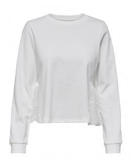 ONLY OnlElena Life Sweater Maglia Egret Bianca 15202328 - Bianca
