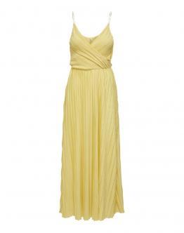 ONLY Onlelema Maxi Wrap Dress Lining Dusky Citron Giallo 15207351 - Gialla