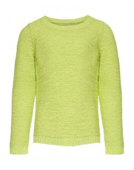 ONLY KIDS Geena Pullover Knit Limeade Giallo Fluo 15174163 - Gialla