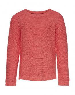 ONLY KIDS Geena Pullover Knit Limeade Suga Coral Corallo15174163 - Corallo