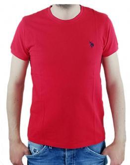 U.S.POLO Sunwear T-Shirt Basica Rossa 58848 50313155 - Red