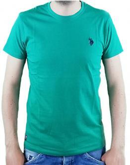 U.S.POLO Sunwear T-Shirt Basica Verde Aqua 58848 50313248 - Verde