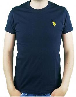 U.S.POLO T-Shirt Piquet Blu 58858 43472177 NAVY - Blu