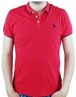 U.S. POLO New Double Horse Rossa Red 58874 50313155 - Rossa