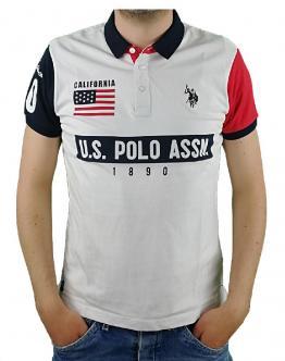 U.S. POLO Sunwear Polo 1890 Calfornia Bianca 58877 50313100 - Bianca