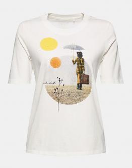 ESPRIT T-Shirt Bianca 011EE1K332110 - Bianca