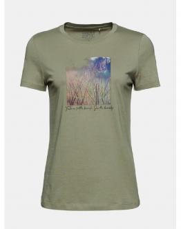 ESPRIT T-Shirt Verdone 021EE1K336345 - Verde