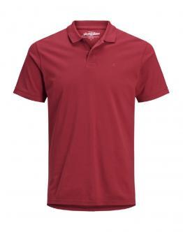 JACK&JONES Basic Polo Rossa 12136516 - Rossa