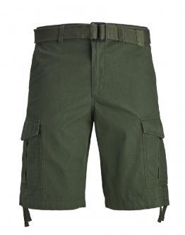 J&J JJCharlie Short Cargo Verdone 12166338 - Verde militare