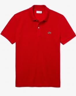 LACOSTE Polo Basica Slim Fit Rossa PH401200240 - Rossa