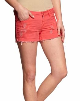 ONLY Coral Low Neon Punk Shorts Woman Pantaloncini Donna Rosa Fluo 15075228 - Rosa fluo