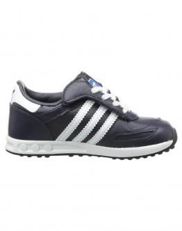 ADIDAS Trainer Junior Legink Blu Leather Pelle G95281 - Blu