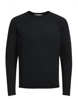 JACK & JONES Pullover Prdave Knit Crew Neck Black Nero 12124487 - Nero