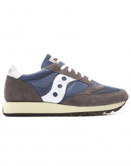 SAUCONY Jazz Original Vintage Running Sneakers Light Blue/Grey Man  Scarpa Celeste/Grigia Uomo S7036810 - Celeste/grigio
