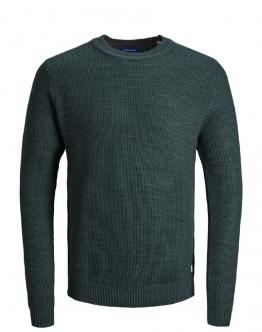 JACK & JONES Maglia Knit Crew Neck Sea Moss Verde 15159056 - Verde