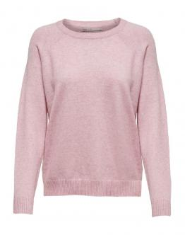 ONLY Lesly Kings Pullover Light Pink Rosa 15170427 - Rosa