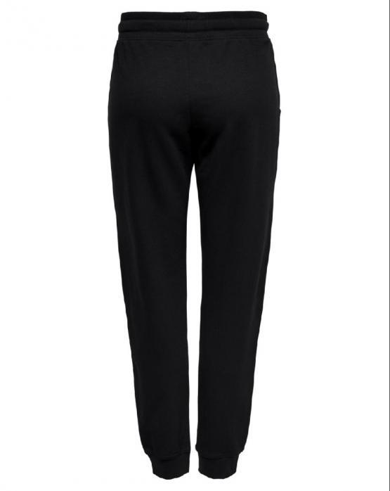 ONLY Marbella Talia Pants Sweat Felpa Black Nero 15182788 - Nero