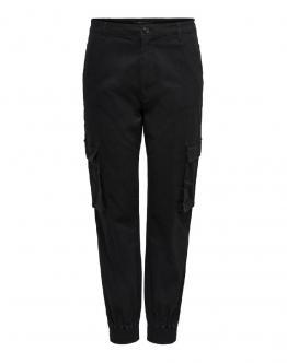 ONLY Betsy-Alva Ank Cargo Pant Black Nero 15187743 - Nero