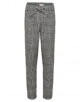 ONLY KIDS Poptrash Soft Check Pant Medium Grey Melange Grigio 15183134 - Grigio