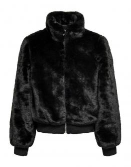 ONLY KIDS Aura Faux Fur Bomber Black Nero 15183610 - Nera